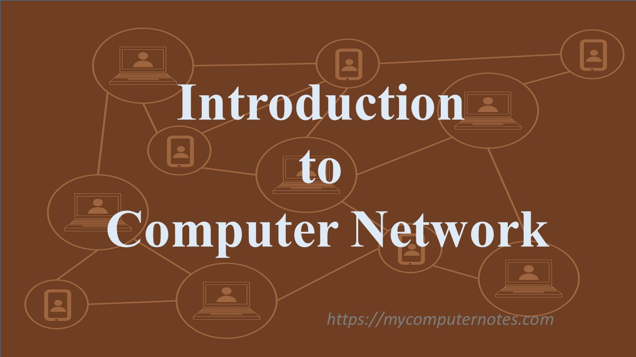 introduction to Computer Network