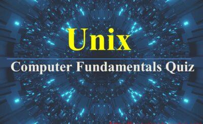 computer fundamentals quiz unix
