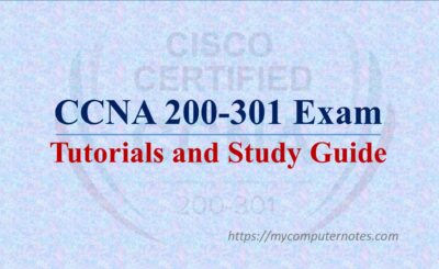 ccna 200-301 tutorials ans study guide