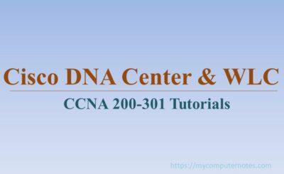 cisco dna center and wlc